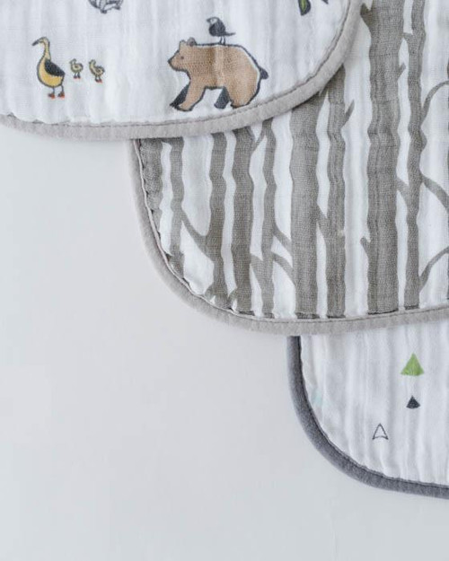 LU- Forest Friends Bib 3pk