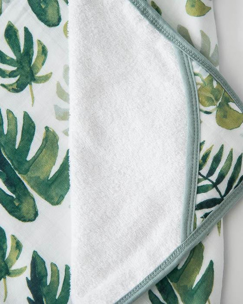 LU- Tropical Leaf Towel Set