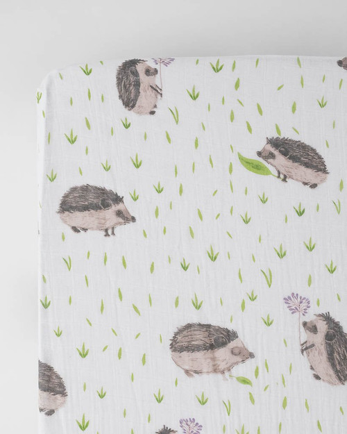 Hedgehog Crib Sheet