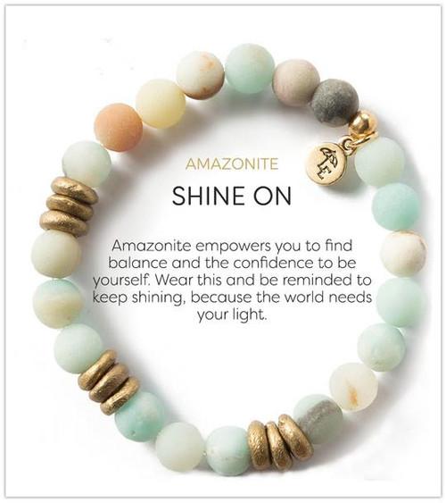 LE- Amazonite 8mm Bracelet