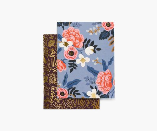 Birch Floral Pocket Notebooks (Set of 2)