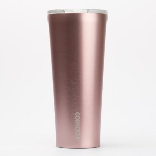 Cork- Rose Metallic 24oz Tumbler
