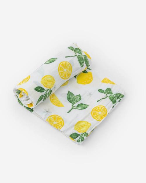 LU- Lemon Drop Swaddle