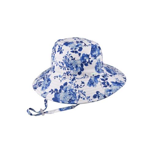 Pearl Blue Size Sm Wide Brim Hat