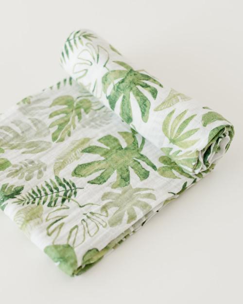 LU- Tropical Leaf Swaddle
