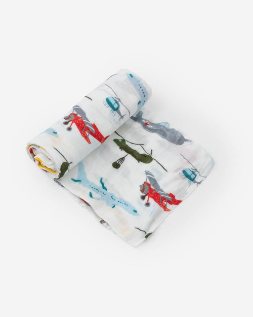 LU- Air Show Swaddle
