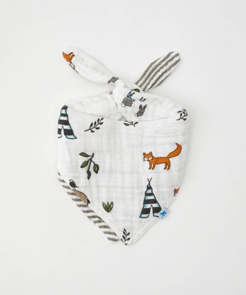 LU- Forest Friends Bandana Bib