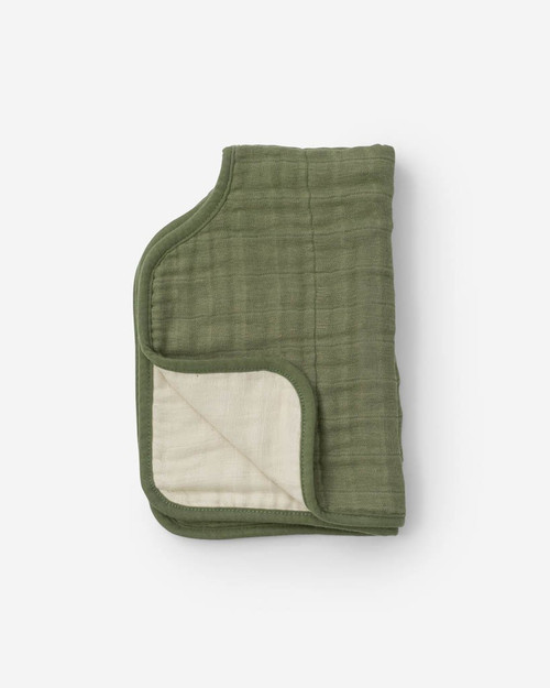 Fern Burp Cloth