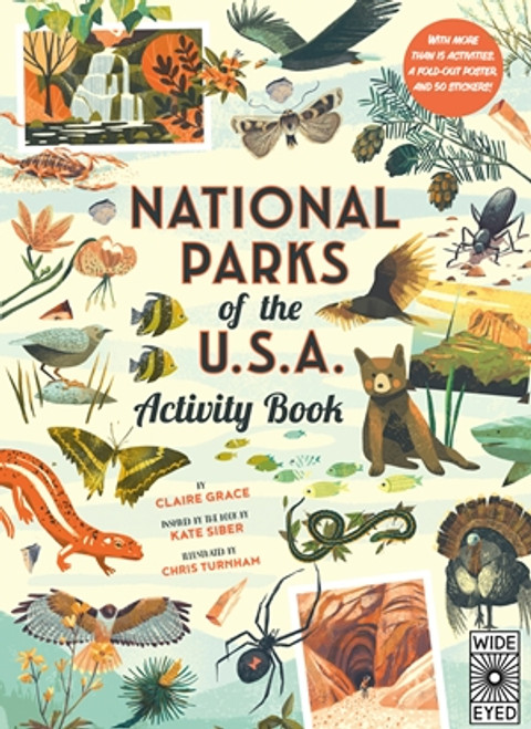 National Parks Activity Book