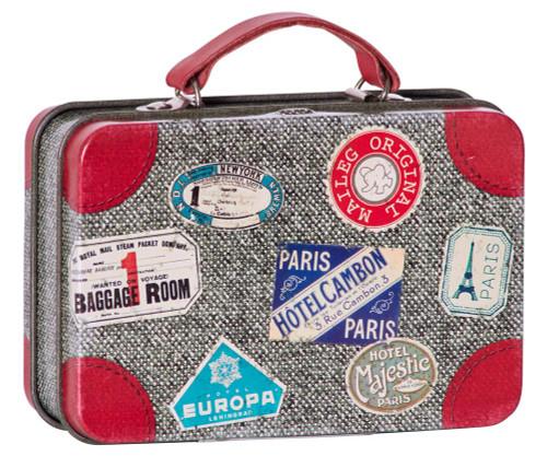 Mail- Metal Suitcase Grey
