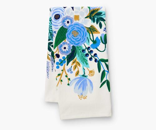 RPC- Garden Party Blue Tea Towel