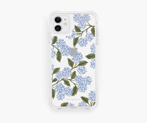 Blue Hydrangea Bloom iPhone 11/XR Case