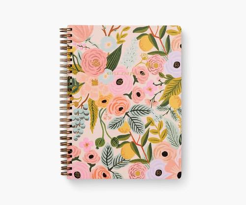 Garden Party Pastel Spiral Notebook