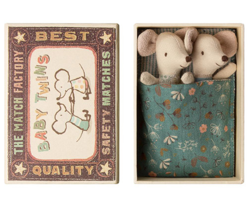 Baby Twins in Matchbox