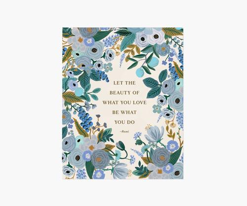 Rumi Quote Art Print 8x10