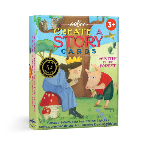 Forest Mystery Story Cards