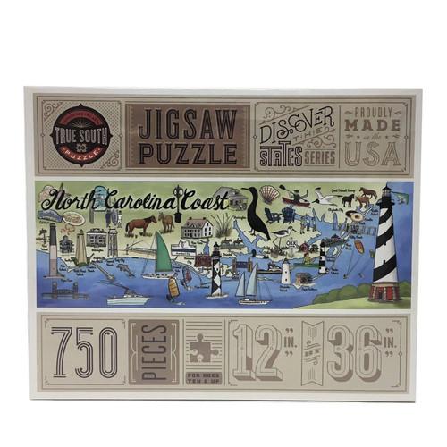 North Carolina Coast Puzzle