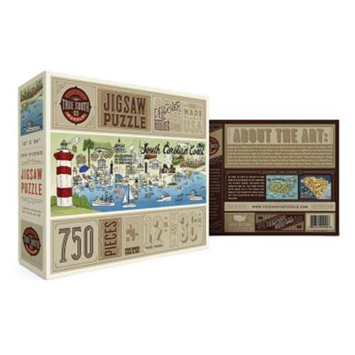 South Carolina Coast Puzzle