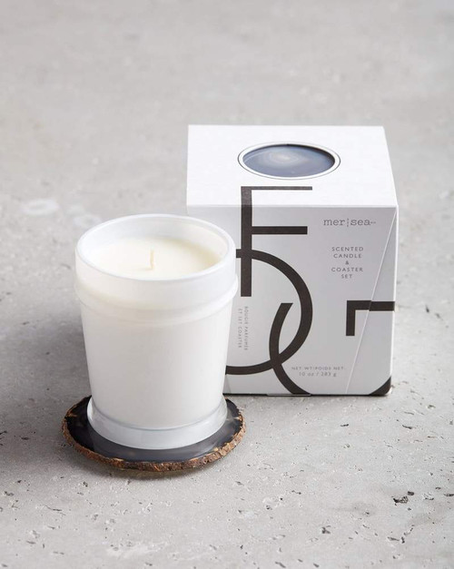 Fog Agate Candle