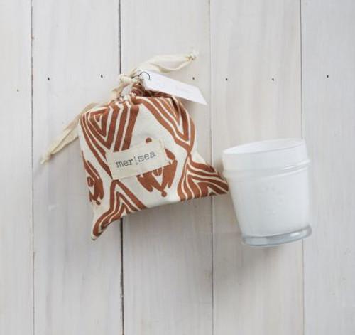 Mer- Dune Print Bag Candle