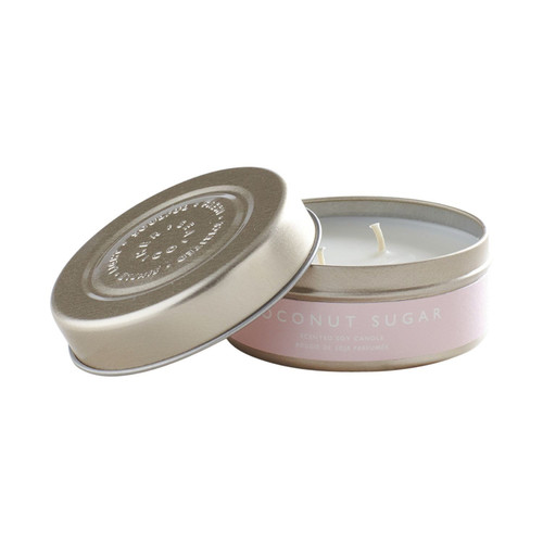 Mer- Coconut Sugar Tin Candle