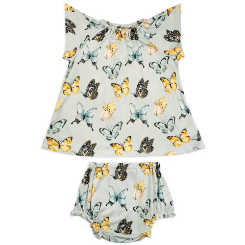 Butterfly Dress and Bloomer Set 12-18 months