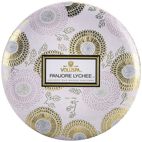 Panjore Lychee 3-Wick Candle