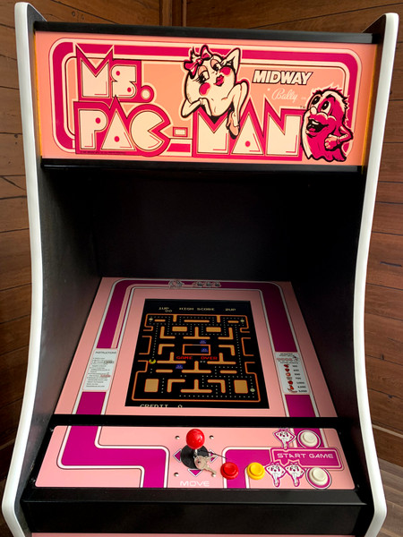 Ms. Pac-Man Multicade Cabinet