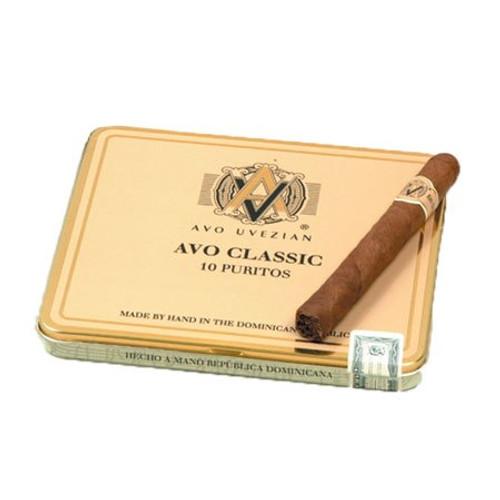 Avo Classic Puritos 10 unit of 100  阿沃经典小雪茄100支装
