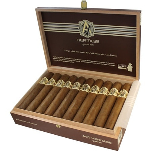 Avo Heritage Special Toro box of 20 阿沃遗产公牛20支装