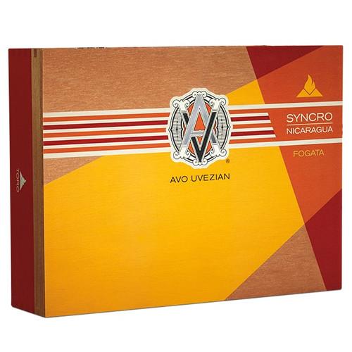 Avo Syncro Fogata Robusto box of 20 阿沃思想者篝火罗布图20支装