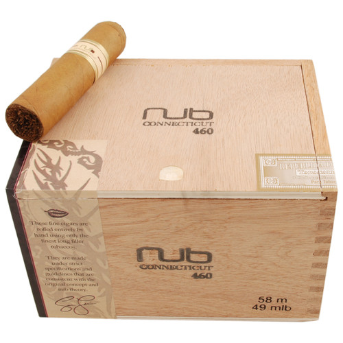 "Nub 460 Connecticut (Gordo) (4.0""x60) Box of 24 努布460康涅狄格大胖子4.0""x60 24 支装"