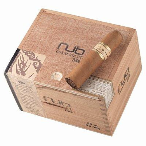 "Nub 354 Connecticut (Gordo) (3.7""x54) box of 24努布460康涅狄格大胖子3.7""x54 24支装"
