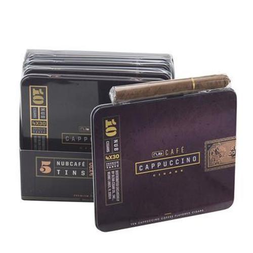"Nub Cafe Cappuccino 430 (Cigarillos) (4.0""x30) box of 20  努布卡布基诺咖啡小雪茄4.0""x30 20支装"