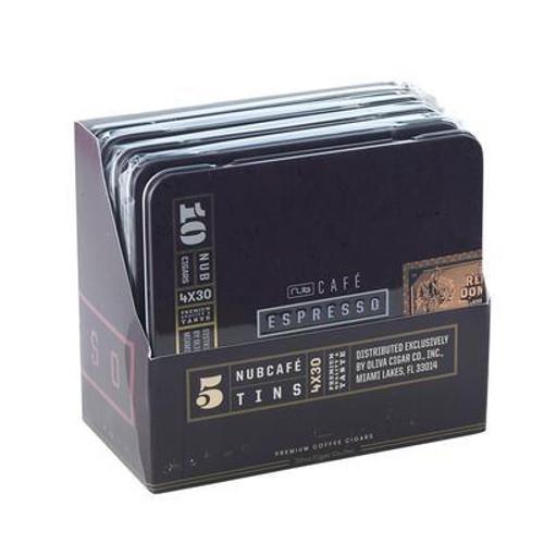"Nub Cafe ESPRESSO 430 (Cigarillos) (4.0""x30) box of 50 努布浓咖啡小雪茄4.0""x30 50支装"