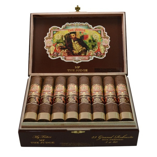 My Father The Judge Grand Robusto box of 23 老爹法官大罗布图23支装
