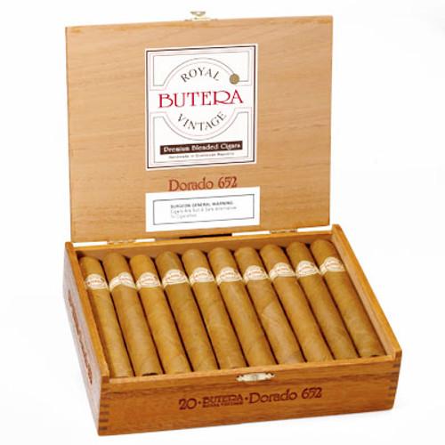 Butera Royal Vintage Bravo Corto 50 x 4 1/2 - 20  布泰拉皇家布拉沃科托老年茄 20 支装