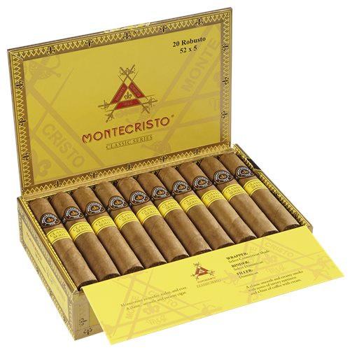 Montecristo Classic Collection box of 15/20-www.ilovecigar.com