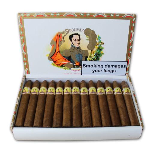 Bolivar Belicosos Finos Cigar - Box of 25 玻利瓦尔比利高鱼雷木盒25支装