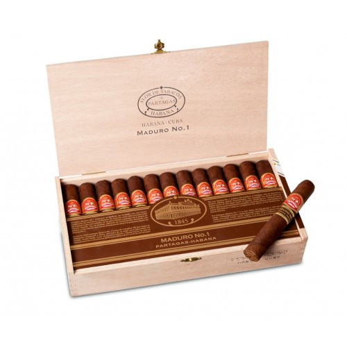 Partagas Maduro No-. 1 (CDH + HS) box of 25 帕特加斯马杜罗1号25支