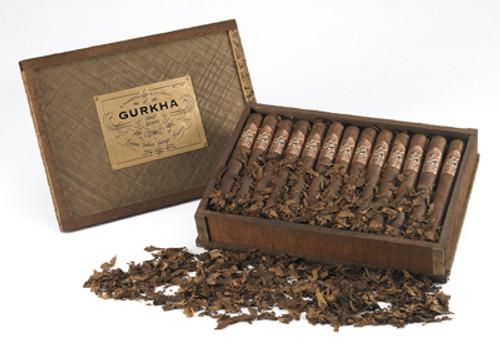廓尔喀老年份蓬松茄叶公牛 25支装  Gurkha Vintage Shaggy Toro box of 25