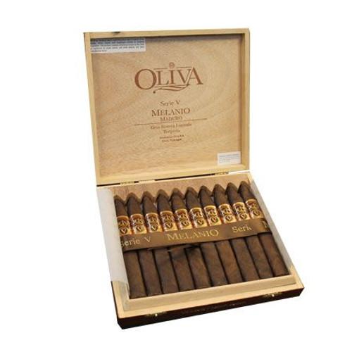 奥利华V系列米拉尼奥鱼雷10支装(马杜罗) Oliva Serie V Melanio Maduro Torpedo box of 10