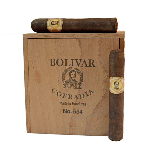 波利瓦龙争虎斗554号25支装  Bolivar Cofradia No. 554 box of 25