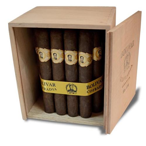 波利瓦龙争虎斗754号25支装  Bolivar Cofradia No. 754 box of 25
