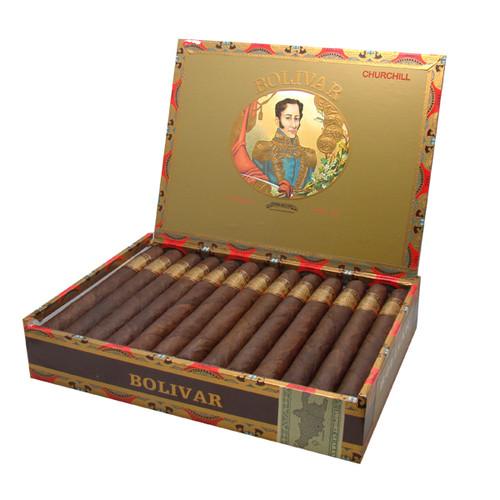 波利瓦多米尼加丘吉尔25支装   Bolivar Dominican Churchill box of 25