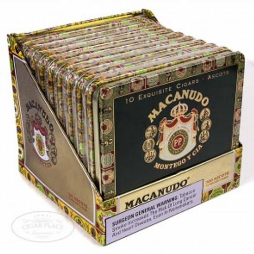 麦卡纽杜罗布斯丝巾100支装 Macanudo Robust Ascot 10 unit of 100