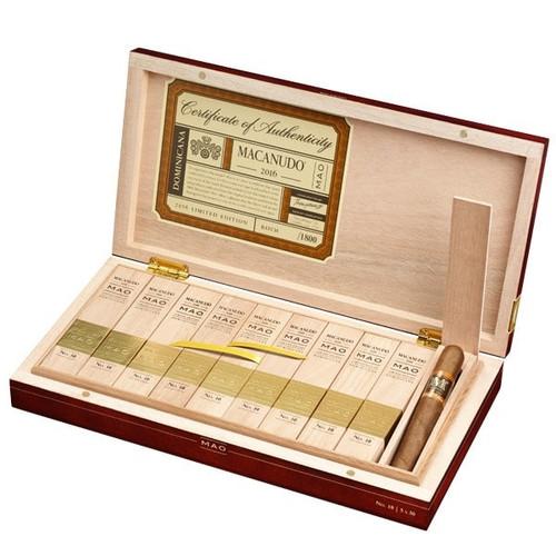 麦克妞杜毛12号大公牛10支装 Macanudo Mao No. 12-toro Gordo box of 10