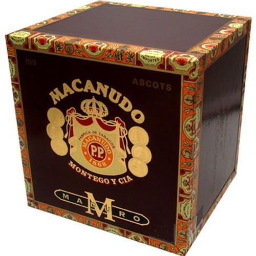 麦克妞杜马杜罗丝巾100支装  Macanudo Maduro Ascot 10 unit of 100