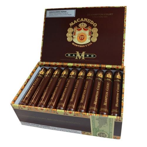 麦克纽杜马杜罗汉普顿宫25支装 Macanudo Maduro Hampton Court box of 25