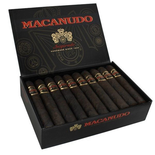 麦克纽杜灵感黑色巨人20支装 Macanudo Inspirado Black Gigante box of 20